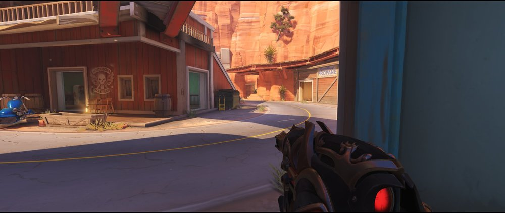 Zed attack sniping spot Widowmaker Route 66.jpg