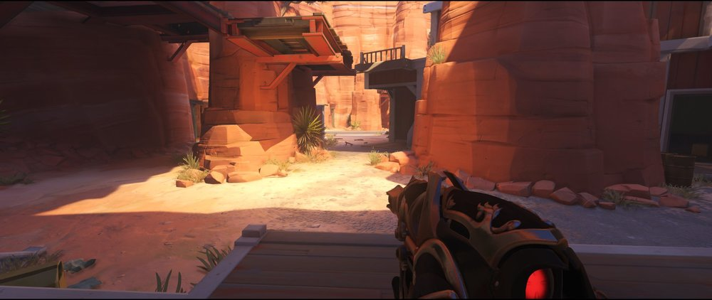 Alley attack sniping spot Widowmaker Route 66.jpg