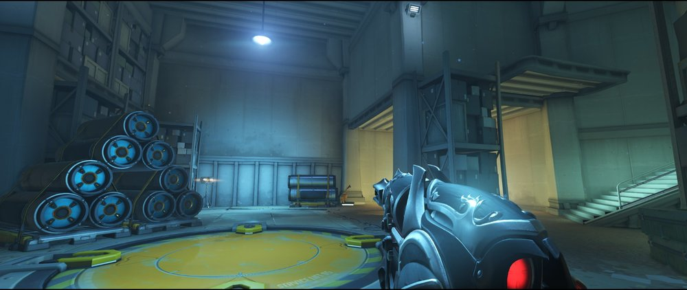 Spawn area defense sniping spot Widowmaker Route 66.jpg