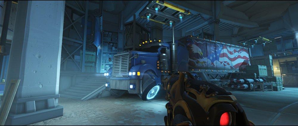 Truck defense sniping spot Widowmaker Route 66.jpg