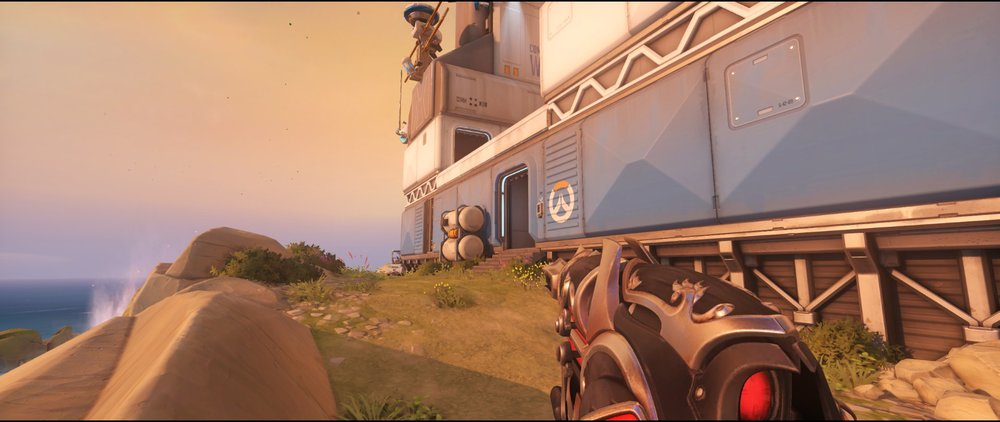 Coast attack sniping spot Widowmaker Watchpoint Gibraltar