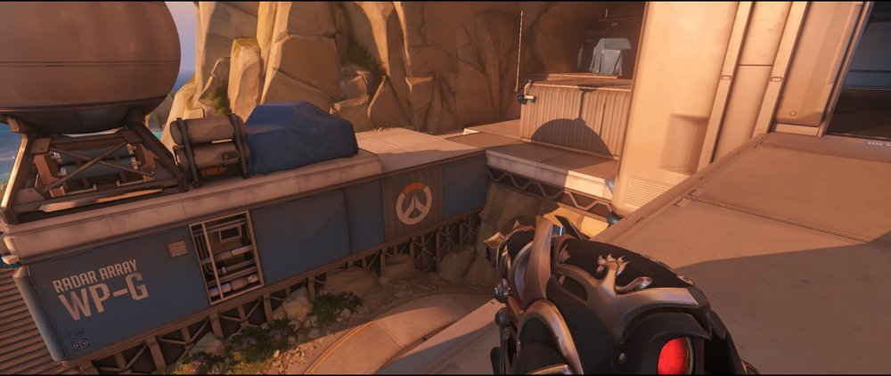 Pass attack sniping spot Widowmaker Watchpoint Gibraltar