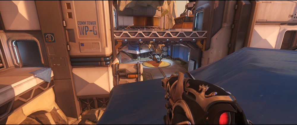 Rooftop box one defense sniping spot Widowmaker Watchpoint Gibraltar.jpg
