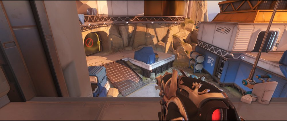 Pass defense sniping spot Widowmaker Watchpoint Gibraltar