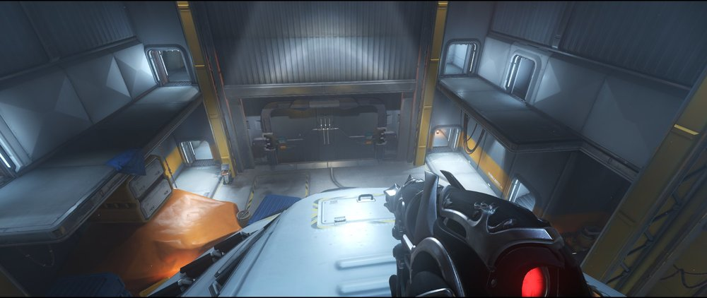 Shuttle main view defense sniping spot Widowmaker Watchpoint Gibraltar