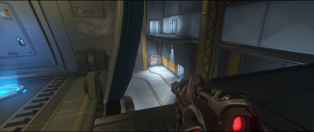Perch view two defense sniping spot Widowmaker Watchpoint Gibraltar.jpg