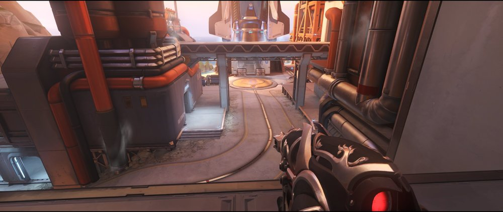 Courtyard high ground view attack sniping spot Widowmaker Watchpoint Gibraltar.jpg