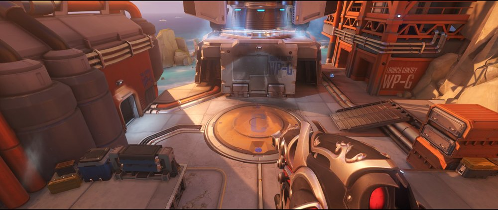 Pass view attack sniping spot Widowmaker Watchpoint Gibraltar.jpg