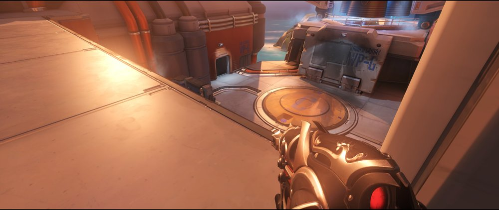 Pass door view attack sniping spot Widowmaker Watchpoint Gibraltar.jpg