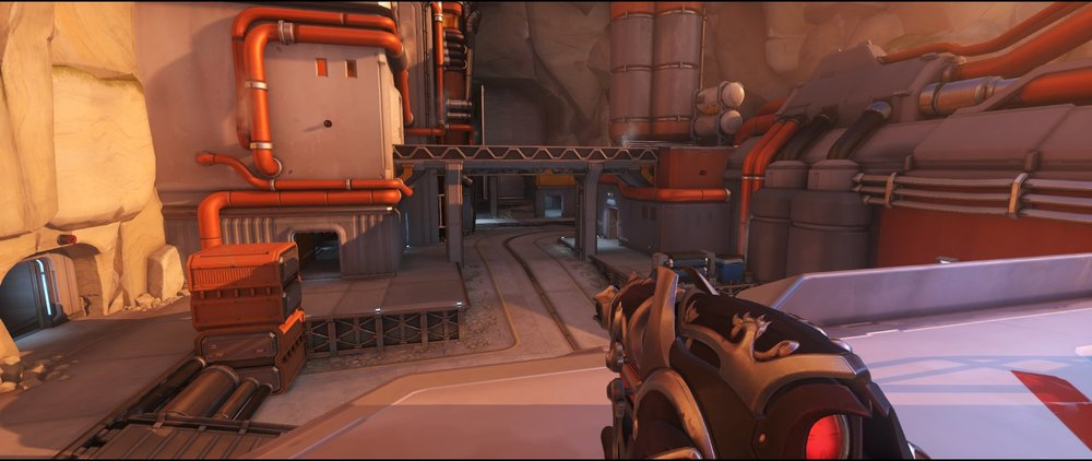 High ground launch defense sniping spot Widowmaker Watchpoint Gibraltar.jpg