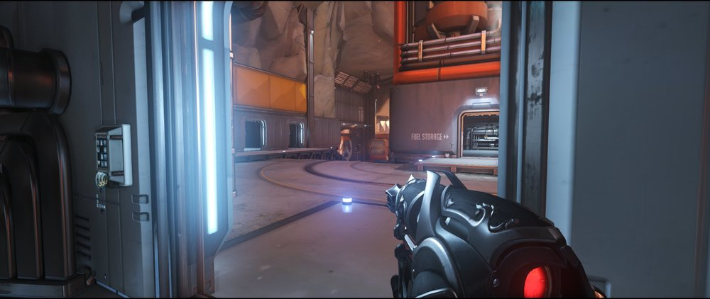 Fuel second door defense sniping spot Widowmaker Watchpoint Gibraltar.jpg