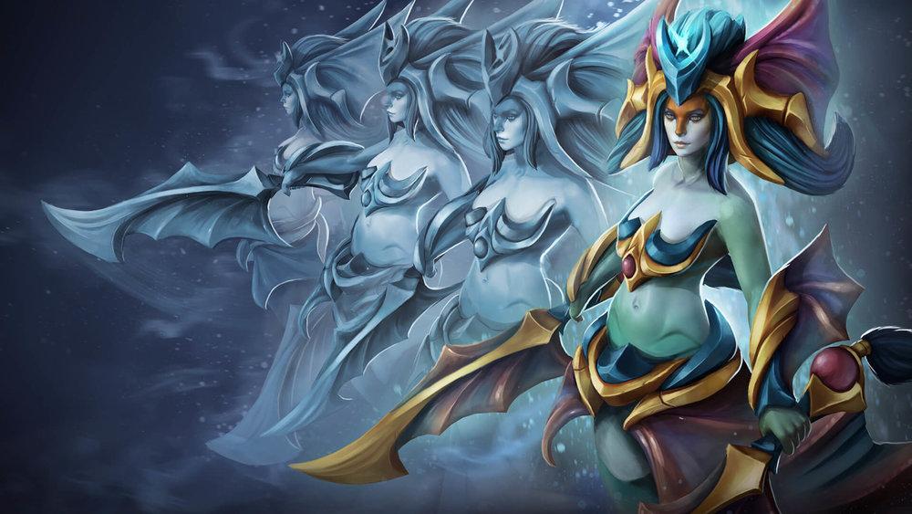 Prismatic Grace loading screen for Naga Siren - Valve