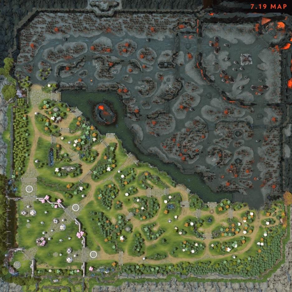 Картинки по запросу dota 2 map