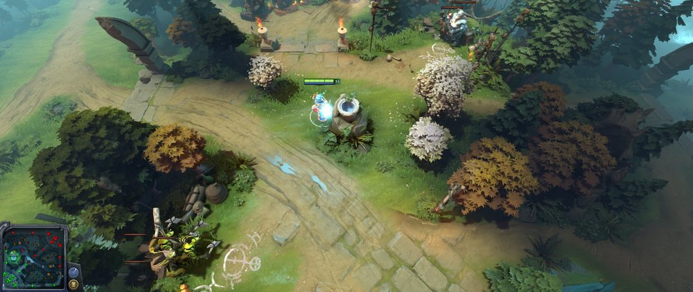 Radiant secondary jungle two camps Dota 720.jpg