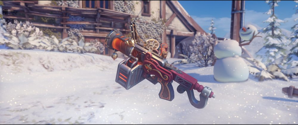 Krampus grenade launcher legendary Junkrat skin Winter Wonderland.jpg