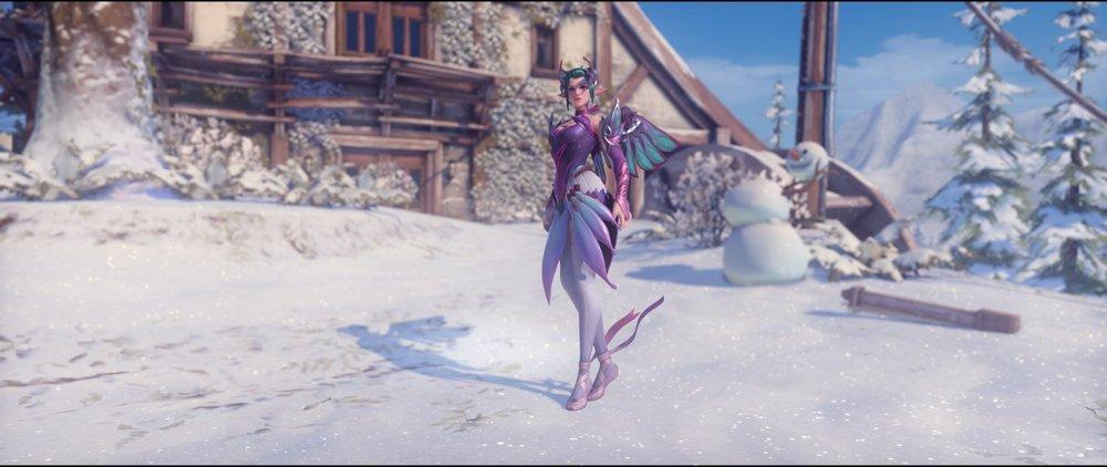 Sugar Plum Fairy front legendary Mercy skin Winter Wonderland.jpg