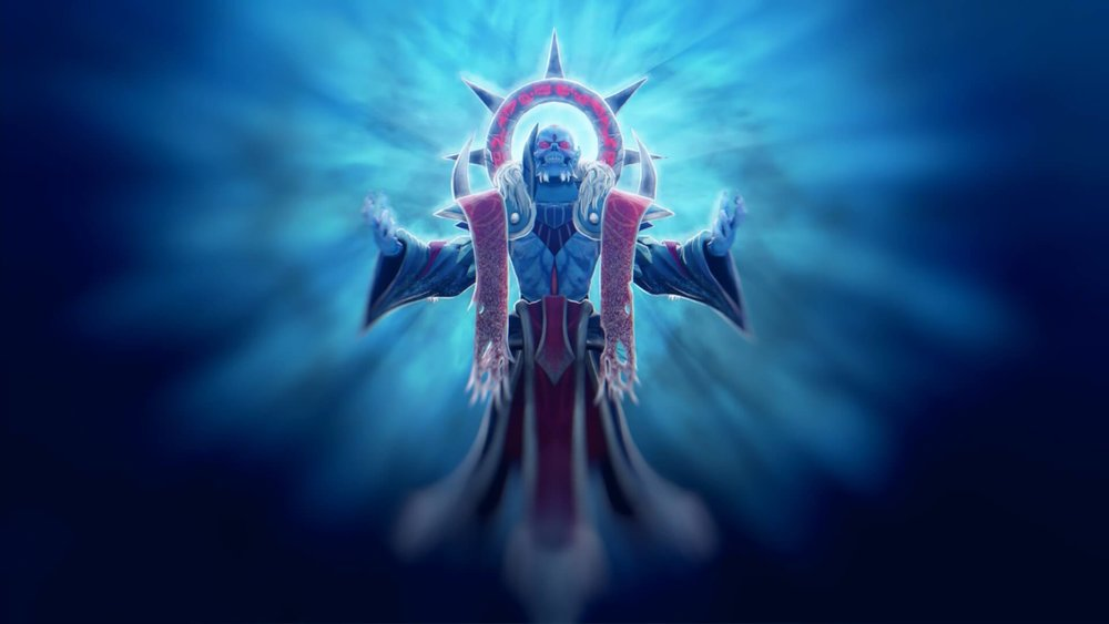 Frozen Star loading screen for Lich - Valve