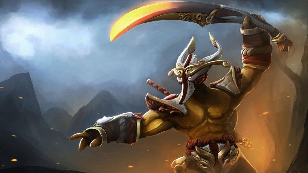 Dashing Swordsman loading screen for Juggernaut - Valve