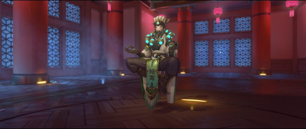 Zhuge Liang front legendary skin Zenyatta Lunar New Year.jpg