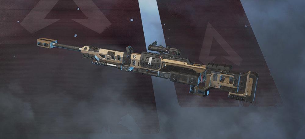 Kraber sniper rifle Apex Legends