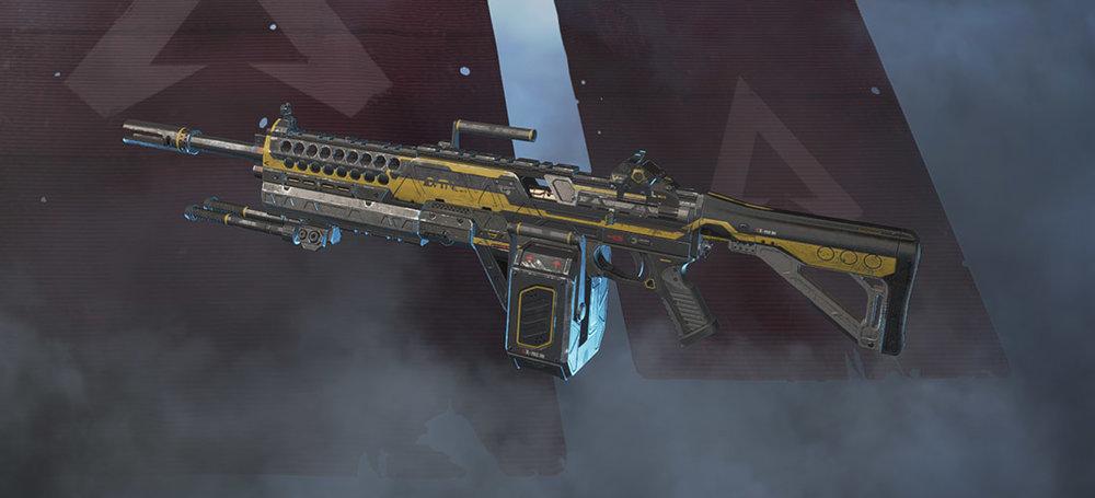Devotion light machine gun Apex Legends