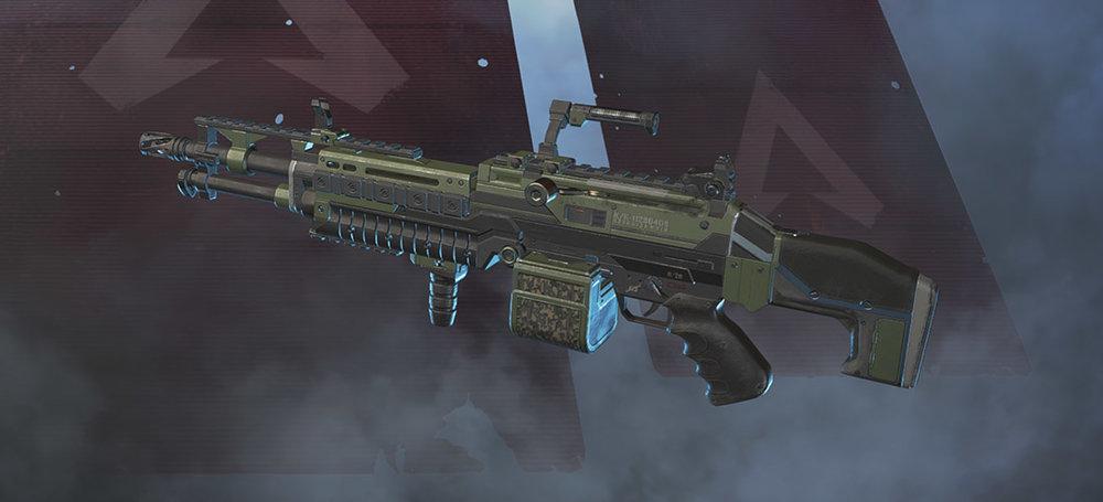 Spitfire light machine gun Apex Legends