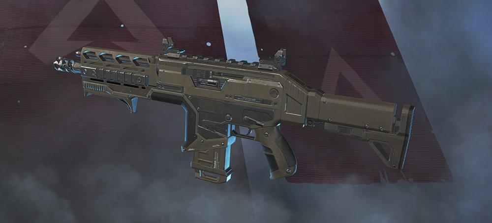 Hemlok assault rifle Apex Legends