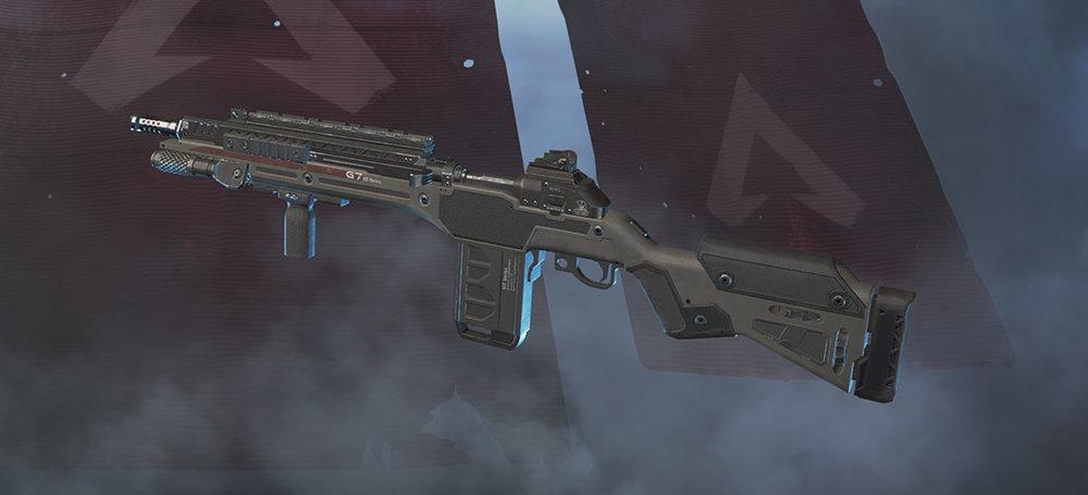 G7 Scout sniper rifle Apex Legends