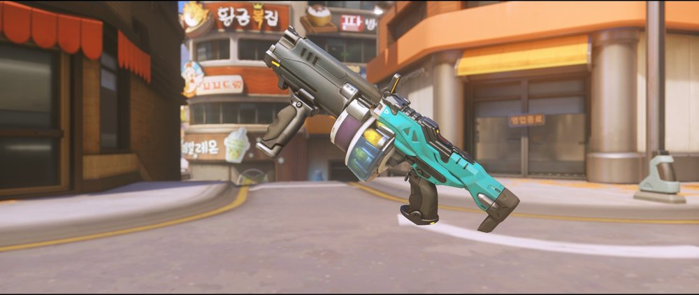 Vyolet gun front rare skin Baptiste Overwatch.jpg