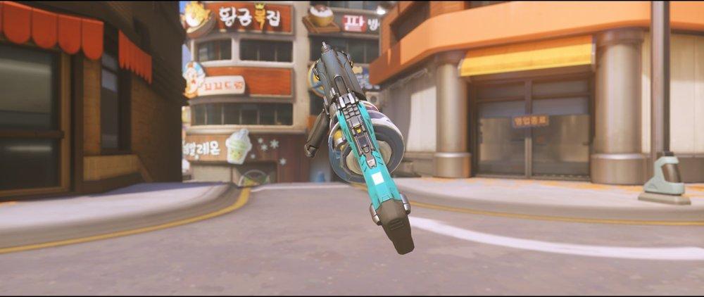 Vyolet gun back rare skin Baptiste Overwatch.jpg