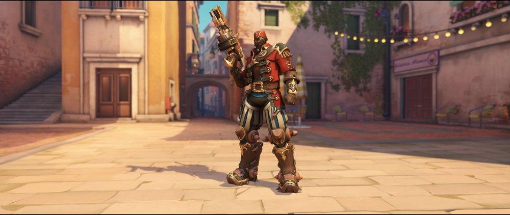 Buccaneer front legendary skin Baptiste Overwatch.jpg