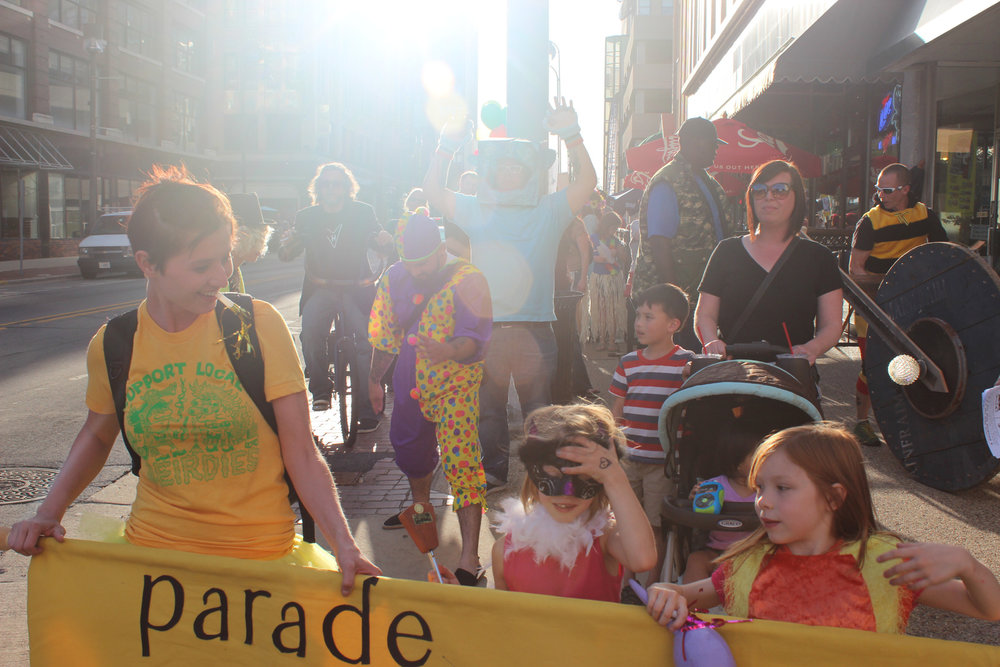 PARADE - June 13, 2014Downtown Rockford, Illinois