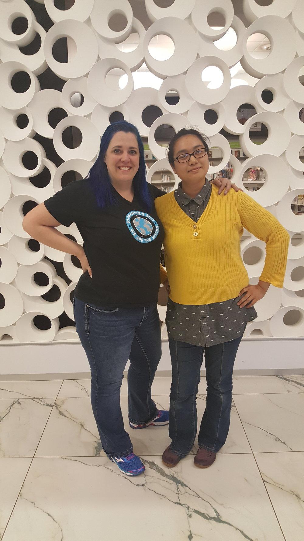 Concierges:  Jolene and Leslie are your Concierges for the Parchment Lounge!