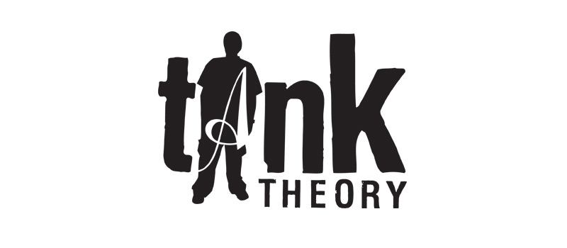 Tank Theory is the thing that introduced us to design. Before this, we didn't know what design was or how it was applied in life. We started this art and apparel company in 2001 from the ground up, creating everything from scratch and growing organically. It started with the logo, a flyer and a handful of tshirt designs. We wanted to get those tshirts into stores, so we attended trade shows in Las Vegas to meet buyers and gain a wider audience. We worked with garment printers, tshirt manufacturers, artists from around the globe.. we eventually grew to a 1 million dollar brand after 6 years. It was a big deal for a couple kids from New England that didn't know much about buiness or design.