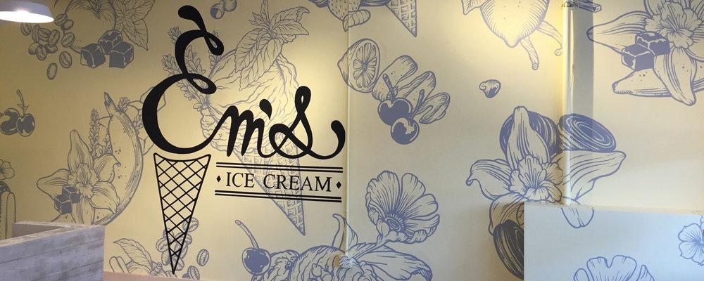 EM'S ICE CREAM -