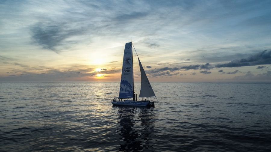 Images by Martin Keruzore / Volvo Ocean Race