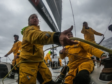 Photos by: Jen Edney / Volvo Ocean Race