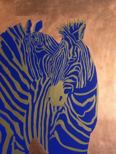 Blue Zebras ( displayed in  ArtPrize   2017 )