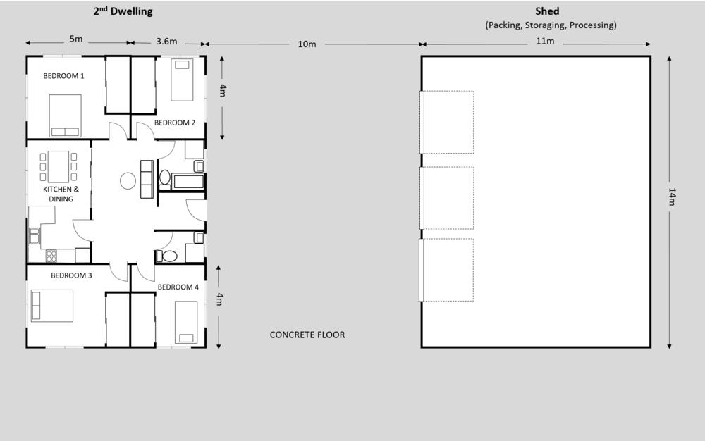 178 2nd Dwelling & Shed Plan.png