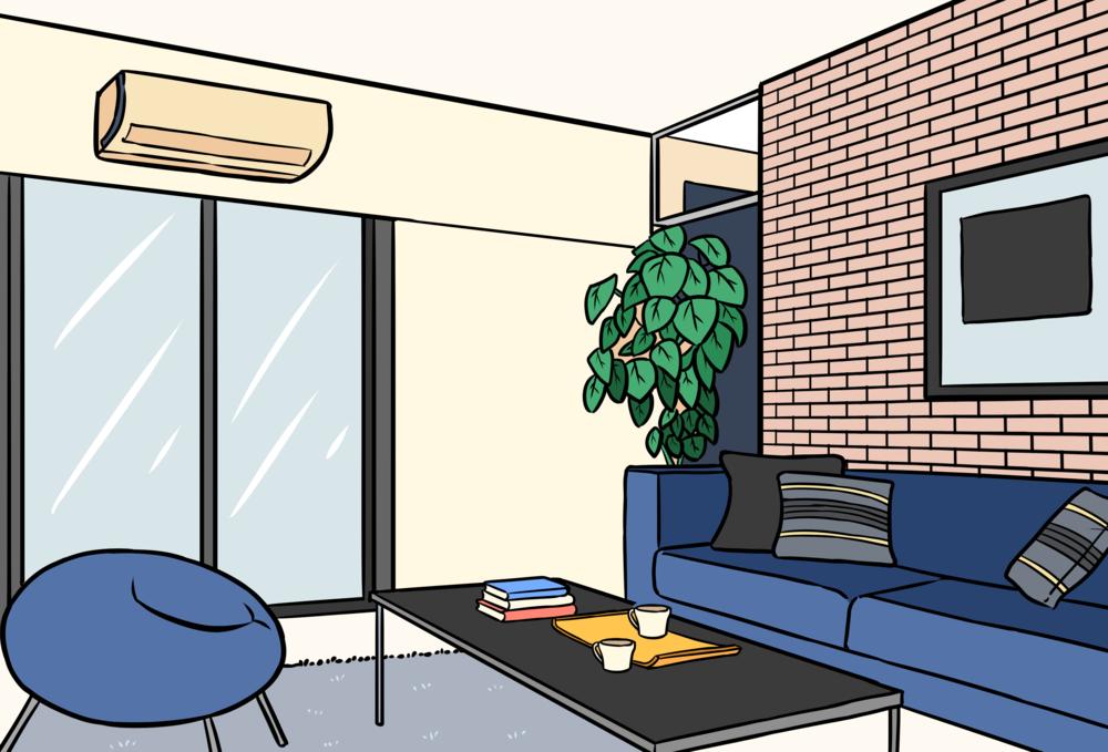 Mini Split Indoor Unit