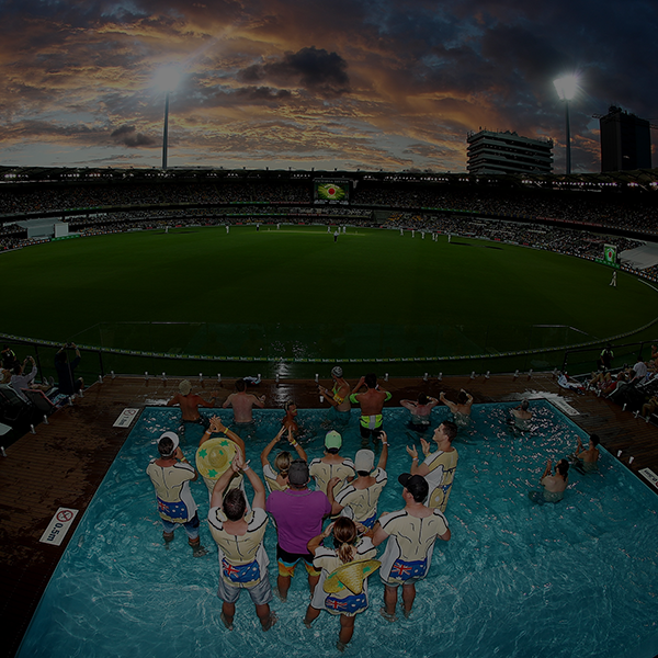 POOL DECK - Cricket's Pool Deck is back this summer at the Gabba!