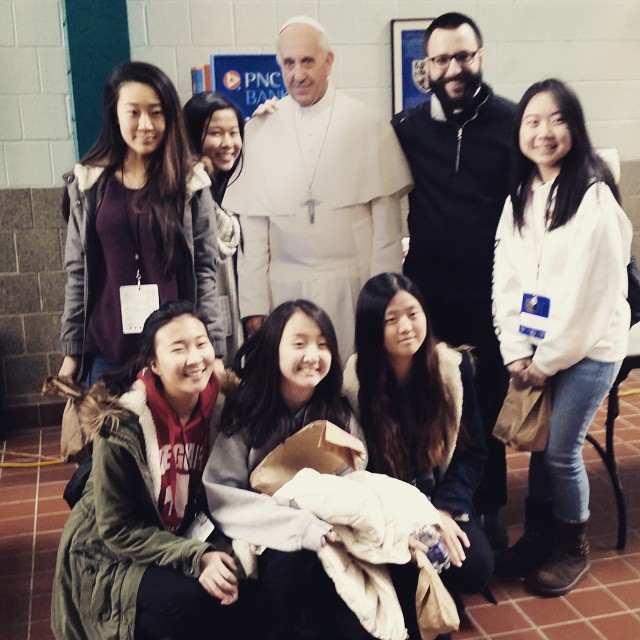 Pope Francis at  #Mount2000