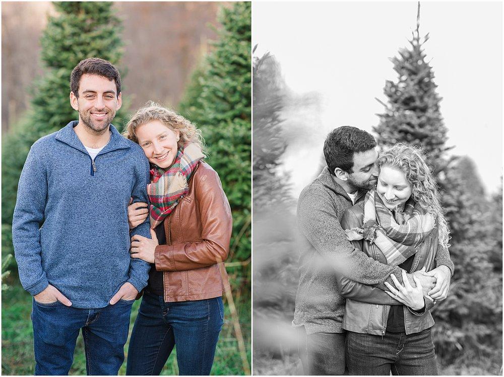 Steubenville Ohio Engagement Coffee Shop Christmas Tree Farm_0283.jpg