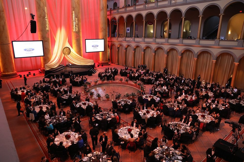 The 2017 National Inventors Hall of Fame induction ceremony took place on May 4 in the majestic central hall of the National Building Museum, Washington, D.C.