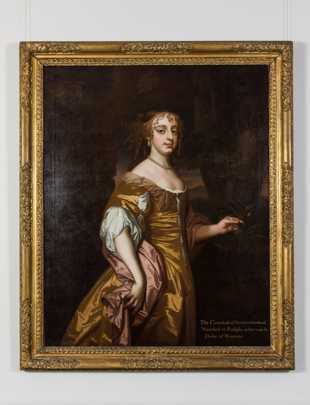Portrait of Elizabeth Wriothesley, Countess of Northumberland