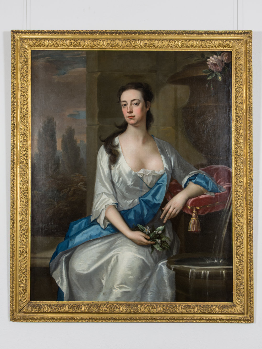 Portrait of Mary Parker, wife of Daniel Dering