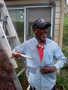My friend Floyd, still bringin' it, with a smile, in his eighth decade.
