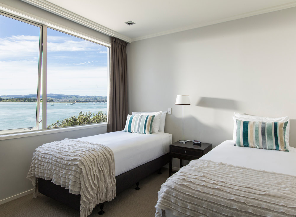 Trinity Wharf Tauranga Accommodation_Harbour View Three Bedroom Apartment_third bedroom025.jpg