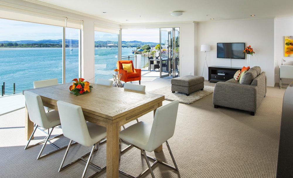 Trinity Wharf Tauranga Accommodation_Harbour View Three Bedroom Apartment021.jpg