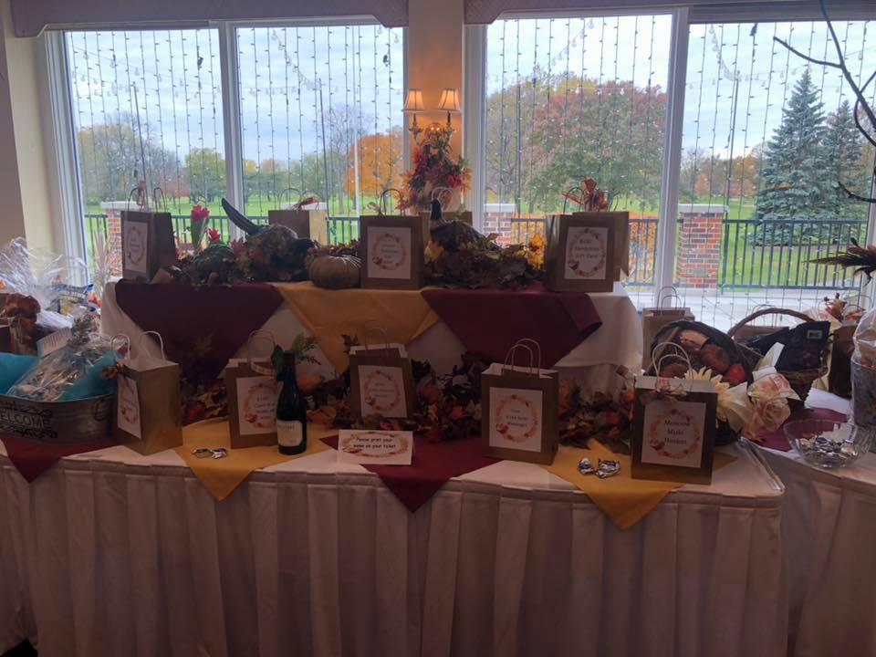 2018 Fall Festival for Scholarships - On November 3, 2019, Park Ridge Panhellenic Alumnae Club raised over $8000 for scholarships for Maine Township High School Seniors at Annual Fall Festival for Scholarships at Park Ridge Country Club in Park Ridge, IL.